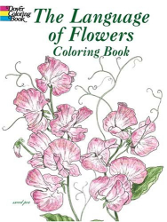 John Green: The Language of Flowers Coloring Book (Dover Pictorial Archives)