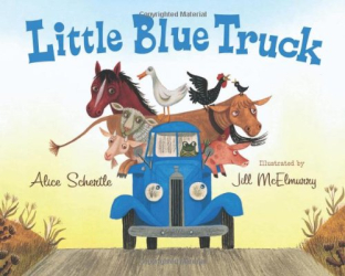 Alice Schertle: Little Blue Truck Board Book