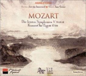 Mozart - Symphonies 39, 40, 41 / Concerto pour basson KV. 191: Anima eterna - Jos van Immerseel - Jane Gower (basson)