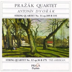 "Dvorak - Quatuors à cordes n°14, op.105 & n°12, op.96 ""Américain"": Quatuor Prazak"
