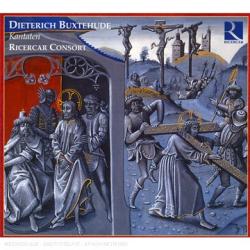 Buxtehude - Cantates : Ricercart Consort - Label Ricercar - Collection Deutsche geisltliche Barockmusick