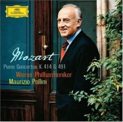 Mozart: Concertos pour piano K. 414 & 491: Maurizio Pollini (piano et direction d'orchestre) - Orchestre Philharmonique de Vienne