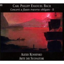 Bach CPE : concertos pour flûte traversière / Vol.2: Alexis Kossenko - Ensemble Arte dei Suonatori, label Alpha