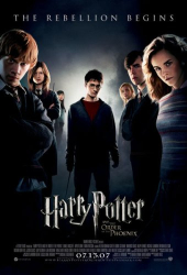 Radcliffe, Grint, Watson: Harry Potter and the Order of the Phoenix (IMAX 3D)