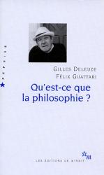 Gilles Deleuze: Qu'est-ce que la philosophie ?