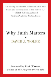 "David J. Wolpe: ""Why Faith Matters"""