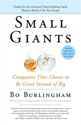 Bo Burlingham: Small Giants