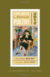 Mark Doty: The Best American Poetry 2012: Series Editor David Lehman