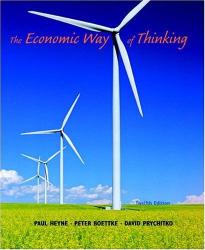 Paul Heyne, Peter Boettke, David Prychitko: Economic Way of Thinking, The (12th Edition)