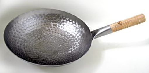 : 16 inch Iron Pow Wok (hand hammered)