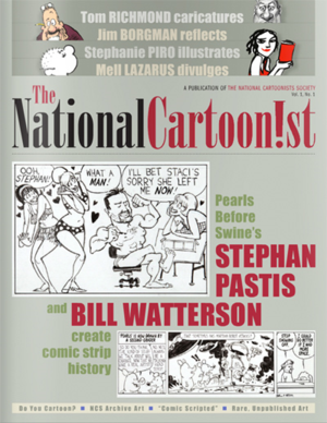 National Cartoonist cover