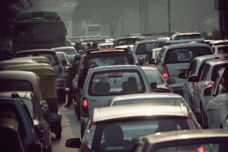 Air pollution caused by traffic is major health problem in Indian cities