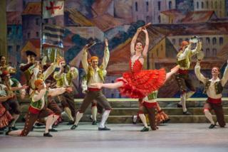 Maria Alexandrova as Kitri; Don Quixote; Bolshoi Ballet_ credit - Stephanie Berger 1