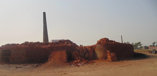 Brick kiln where Shehzad and Shama worked.