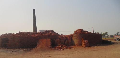 Brick kiln where Shehzad and Shama worked.