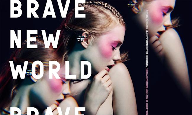 NYLON MAGAZINE Zanna Van Vorstenbosch in Brave New World by Jamie Nelson. Savanna White, August 2014, www.imageamplified.com, Image Amplified