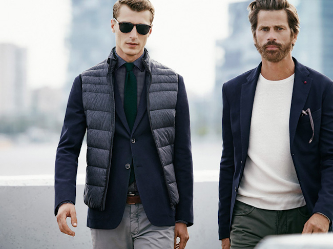 CAMPAIGN Clement Chabernaud & Mark Vanderloo for H.E. by Mango Fall 2014. www.imageamplified.com, Image Amplified