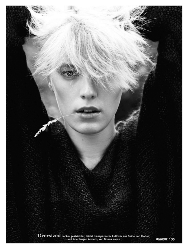 GLAMOUR GERMANY Erika Linder in Trau Dich Weit Hinaus by Jan Welters. Sasa Thomann, September 2014, www.imageamplified.com, Image Amplified