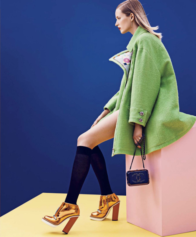 HARPER'S BAZAAR MAGAZINE Daria Strokous in The Best and the Brightest by Nathaniel Goldberg. Tom Van Dorpe, September 2014, www.imageamplified.com, Image Amplified