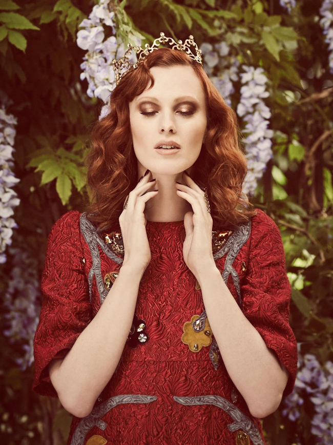 STYLIST UK Karen Elson by Jon Gorrigan. Alexandra Fullerton, September 2014, www.imageamplified.com, Image Amplified