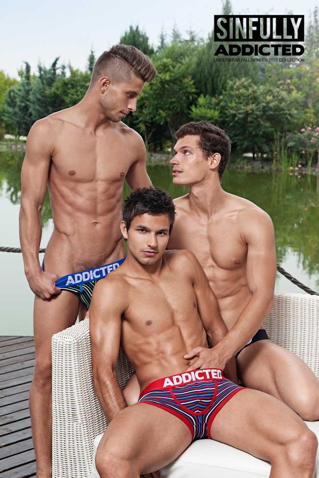 "CAMPAIGN: ""Sinfully Addicted"" for Addicted Underwear Fall 2015 by Dylan Rosser"