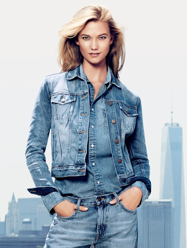 LUCKY MAGAZINE Karlie Kloss in A View From The Top by Paola Kudacki. Karen Kaiser, October 2014, www.imageamplified.com, Image Amplified