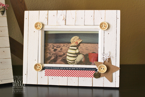 Summer frame decor 2 Maya Road Kimberly Crawford