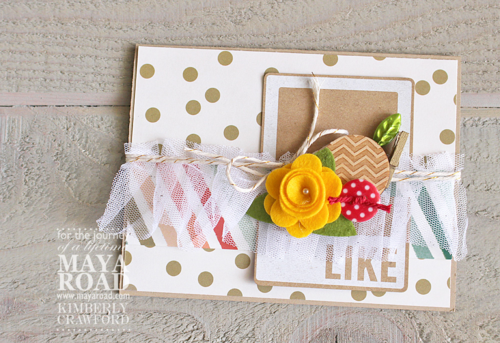 Like flower card Kimberly Crawford