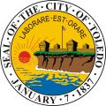 City of toledo seal