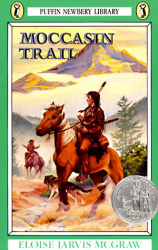 Eloise Jarvis McGraw: Moccasin Trail (Puffin Newberry Library)