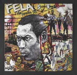 The album cover for Fela Kuti's 'Sorrow Tears and Blood', artwork courtesy of Lemi Ghariokwu, 1977