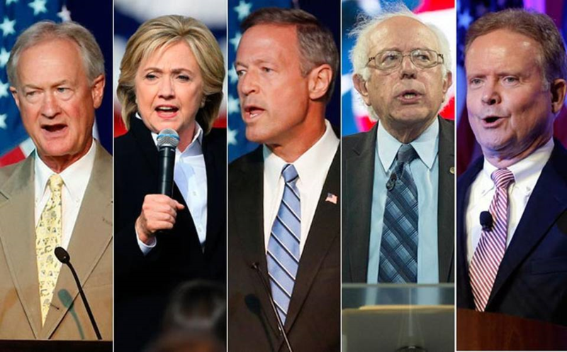the democratic presidential debate no crowd no undercard and no