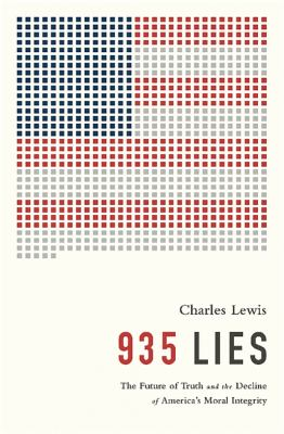 """935 lies  the future of truth and the decline of America's moral integrity: """"Facts are and must be the coin of the realm in a democracy, for government """"of the people, by the people and for the people, """" requires and assumes to some extent an informed citizenry. Unfortunately, for citizens in the United States and throughout the world, distinguishing between fact and fiction has always been a formidable challenge, often with real life and death consequences. But now it is more difficult and confusing than ever. The Internet Age makes comment indistinguishable from fact, and erodes authority. It is liberating but annihilating at the same time. For those wielding power, whether in the private or the public sector, the increasingly sophisticated control of information is regarded as utterly essential to achieving success. Internal information is severely limited, including calendars, memoranda, phone logs and emails. History is sculpted by its absence. Often those in power strictly control the flow of information, corroding and corrupting its content, of course, using newspapers, radio, television and other mass means of communication to carefully consolidate their authority and cover their crimes in a thick veneer of fervent racialism or nationalism."""