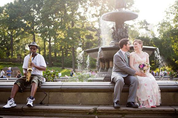 Central Park Wedding, New York City Love Shoot