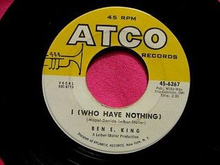 Ben E. King - I (Who Have Nothing)