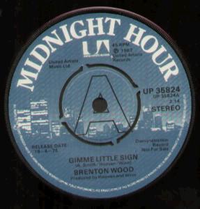 Brenton Wood - Gimme Little Sign (Stereo)