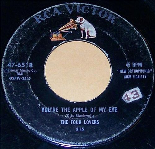 The Four Lovers - You're The Apple Of My Eye
