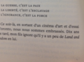 Picture of a page with partial text