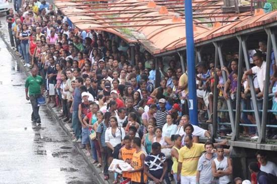 Autobus en Salvador de Bahia
