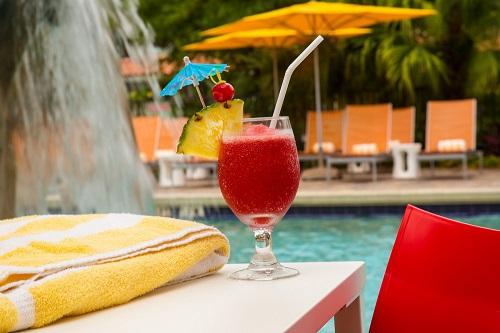 DTOrlando pool drink