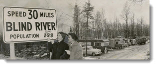 Blind River's fate typical of north, Blind River, Ontario, 1956