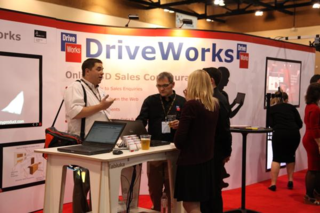 MeAtTheDriveWorksBooth