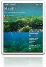 Dos revistas digitales asociadas al proyecto: Nautilus digital, una revista basada en Twitter y Nautilus para iPad