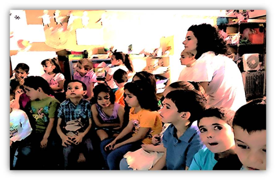 El aula de 4 años