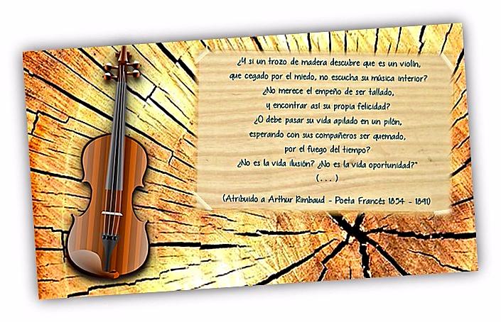 un Proyecto de Colaboración entre  docentes de distintos centros, que adoptó el sugerente nombre de Maderas que son violines.