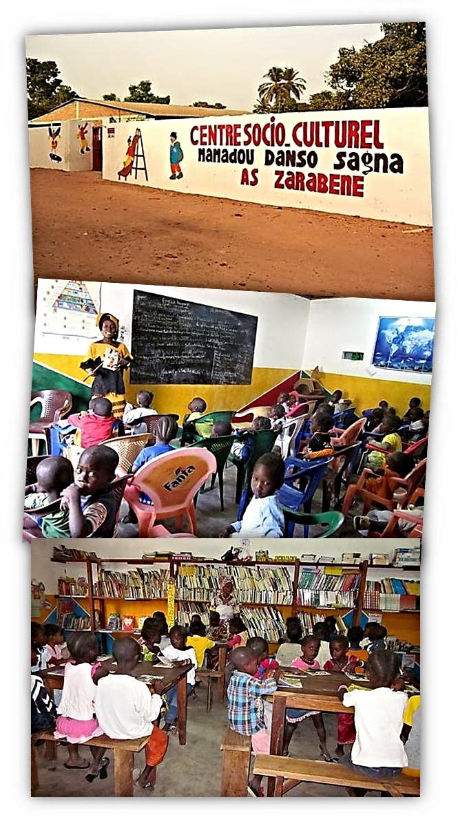 Aula de la Escuela Infantil de Abéné. Fotografía: Asociación Zarabene