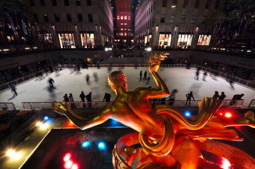 winter holiday events in NYC