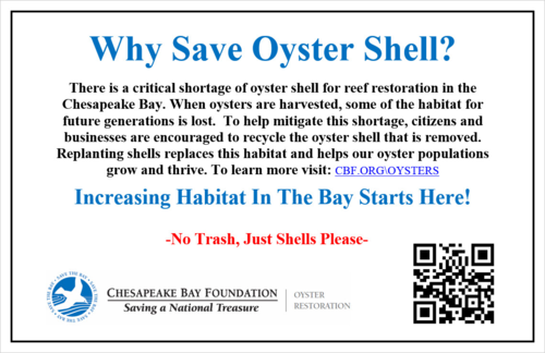 Why Save Oyster Shell (2013)