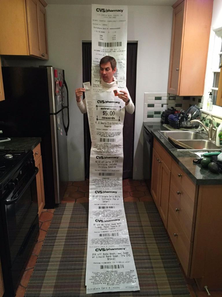 Retail Hell Underground: Crazy Receipts: CVS Receipts And