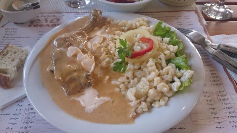 Chicken Paprikas